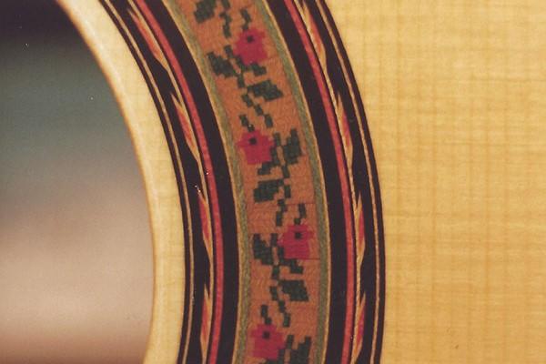 Classical Guitar – Mosaic Detail